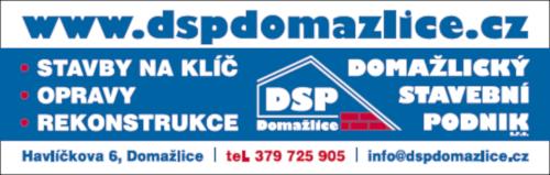 DSP Domažlický stavební podnik s.r.o.